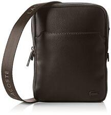 Accessoires sac bandoulière marron Lacoste pour homme