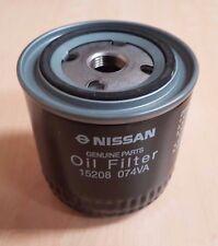 Nissan Genuine Oil Filter Part ref 15208-074VA