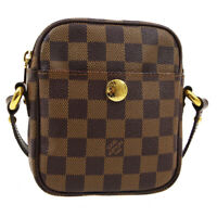 LOUIS VUITTON RIFT CROSS BODY SHOULDER BAG SR1005 PURSE DAMIER N60009 01946