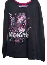 Girls Monster High Long Sleeved Top, Age 12