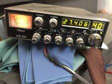 Galaxy DX-959B 40 Channel AM SSB Mobile CB Radio with Blue LED Display - Black