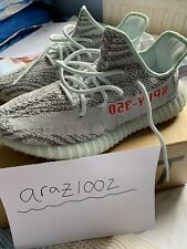 Adidas Yeezy Boost 350 V2 Bleu Tint UK 9/US 9.5 100% Authentique!