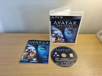 PLAYSTATION 3 - PS3 - JAMES CAMERONS AVATAR THE GAME - COMPLETE WITH MANUAL