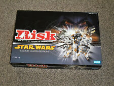 STAR WARS RISK GAME : CLONE WARS EDITION - PART SEALED CONTENTS (FREE UK P&P)