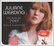 Juliane Werding-Hits & rarità-il meglio delle 70er3cd Box-Set Nuovo