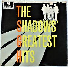 THE SHADOWS GREATEST HITS MONO LP ALBUM Cat:33SX1522. UK DISPATCH.