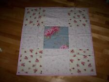 NEW Baby girl Quilt HMw/ Rachel Ashwell Shabby Chic Pink Roses Belle Hydrangea