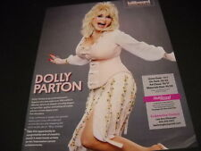 DOLLY PARTON excited for her upcoming special 2014 PROMO POSTER AD mint cond