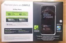 Simple Mobile Samsung Galaxy J7 Crown 4G LTE Prepaid Cell Phone