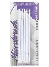 PK.10 microbrush (Blanc) Superfine Mini Pinceaux pour model kits Airfix etc