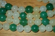 100 old stock Natural Jade Beads, 8mm, Lot #27