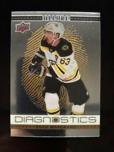 2020-21 Upper Deck Allure Diagnostics Brad Marchand #D-10 Boston Bruins