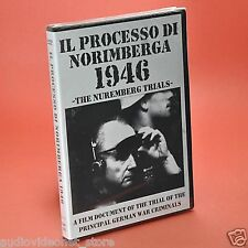 IL PROCESSO DI NORIMBERGA 1946 DVD Crimini di guerra nazisti shoah auschwitz