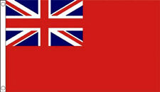 3' x 2' RED ENSIGN FLAG Merchant Navy Red Duster Naval Flags