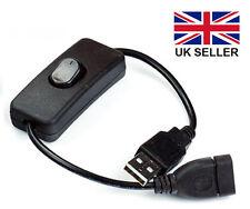 USB On/Off Interruttore Cavo di estensione per Arduino o Raspberry Pi