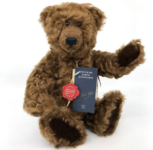 Hermann Original Teddy Bear Neewa Limited Ed 800 Curly Mohair Plush 11in Tags