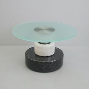 Couch Table Menhir 1983 Lodovico Acerbis Giotto Stoppino Marble Steel Glass Awb