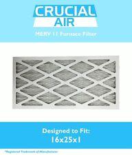 Replacement MERV 11 Allergen Air Furnace Filter 16x25x1