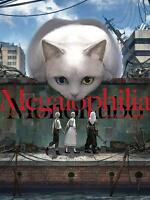 'NEW' MonoKubo Artworks Megalophilia | JAPAN Illustration Art Book Cat Animal