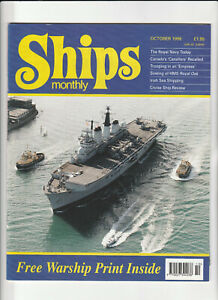 SHIPS MONTHLY Magazine October 1996 - Royal Navy Today & Free Warship Print