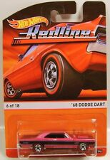 1/64 Hot wheels Red Line 68 Dodge Dart Heritage