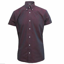 Cotton Short Sleeve Casual Shirts & Tops for Men's 60s