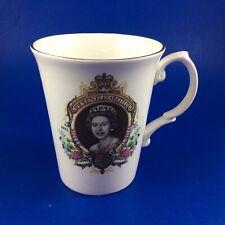 Bluebird HM Queen Elizabeth II Silver Jubilee 1952-1977 Fine Bone China Mug