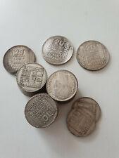 France monnaie Lot de 32 x 10 francs Turin Argent + 3 x 20 francs turin Argent