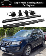 Fits for Ford Explorer 2011-2019 Deployable Running Board Side Steps Nerf Bar