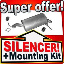 Rear Silencer PEUGEOT 407 2.2 16V SALOON ESTATE SINCE 2004 Exhaust Box DFX