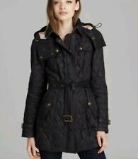 Burberry Brit 'Finsbridge' Belted Quilted Jacket Size S RRP£750