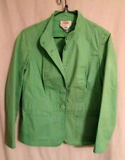 Talbots Petites green stretch cotton jacket  8*FREE SHIPPING* Very Nice