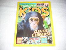 National Geographic Kids Magazine Issue 144 November 2017 Chimps