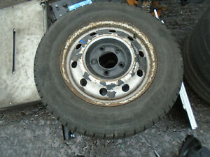 VAUXHALL MOVANO MK1 2008 16 INCH STEEL WHEEL WITH TYRE 225/65R16C REF 2