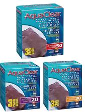 Aqua Clear Aquarium Activated Carbon Water Filter Insert 5 - 50 Gallon Fish Tank