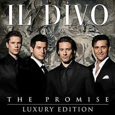 The Promise (Luxury Edition) Il Divo (CD, 2008, 2 Discs) SHIPS NEXT DAY