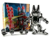 Labbiter XK-5 Figure by Frank Kozik Chrome Edition KidRobot Exclusive UNOPENED