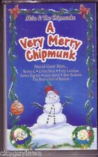 ALVIN CHIPMUNKS Very Merry Chipmunks Cassette Classic DAVID SEVILLE HERE COMES