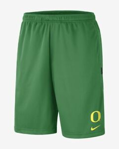Nike Oregon Ducks Dri-Fit Coaches Shorts AR6897 377 Size XL