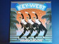 """Key-West – Wanna Groove (Vinyl 12"""", Maxi 45 Tours)"""