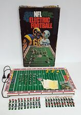NFL ELECTRIC FOOTBALL GAME Vintage Tudor Games w/9 Teams COMPLETE & WORKS w/BOX