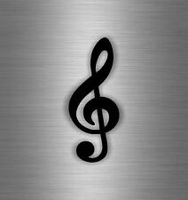 Sticker decal wall car moto funny surf music clef note symbol laptop r1 guitar