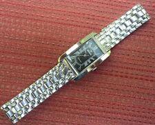 NEW BATTERY Nivada Millionaire Womens Swiss Quartz 30M WR Stainless Steel Watch