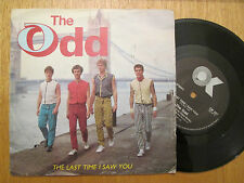 """The Odd  – The Last Time I Saw You -  UK  7"""" P/S 1984"""