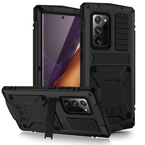 Heavy Shockproof Metal Aluminum Gorilla Case For Samsung S21 Ultra S20 Note Plus