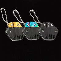 Mini Portable Gadget 14-in-1 Pocket Multi Tool Keychain Key Ring EDC Multi Tool
