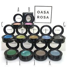 MAC Eye Shadow Eyeshadow New **11 Shades** Eyes BNIB Boxed 100% Authentic