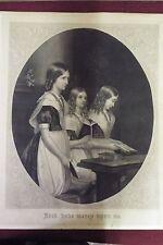 Antique Print/Engraving by John McRae - Undated