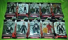 Marvel legends lot spiderman carnage ghostrider spider gwen agent superior venom