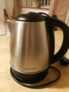 Cookworks hot water kettle Silver